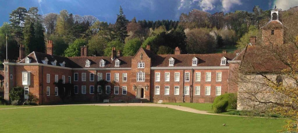 The house at Stonor Park - home to the Antiques Roadshow