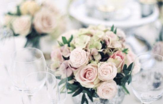 Stonor Florists Emma Walker Table Roses Boquet
