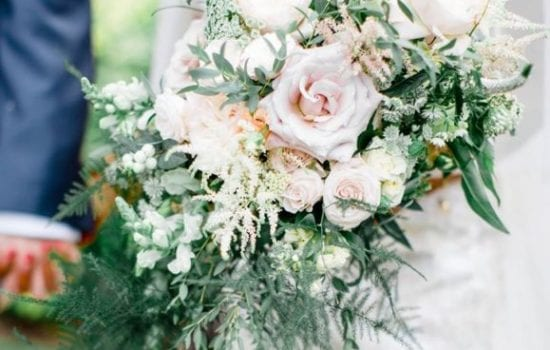 Stonor Manor Florists Ruby and Grace Bridal Boquet Roses