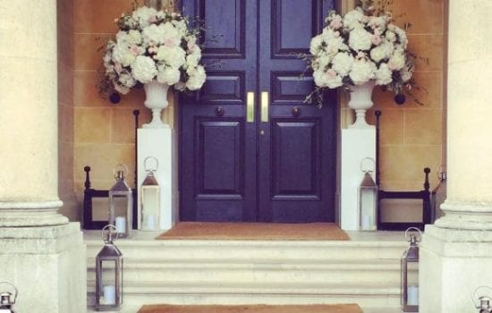 Stonor Manor Florists Ruby and Grace Door Featured Arrangment