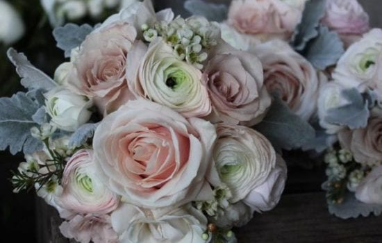 Stonor Manor Florists Ruby and Grace Table Boquet Roses
