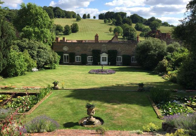 Stonor Manor Front Garden Terrace