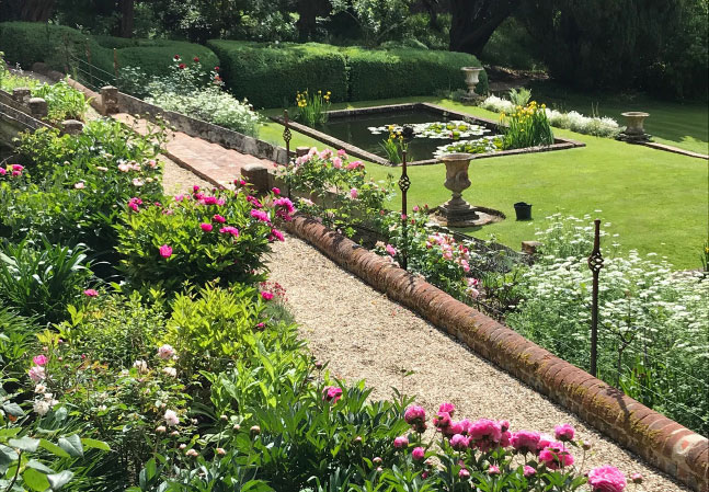 Stonor Manor Lush Garden Path