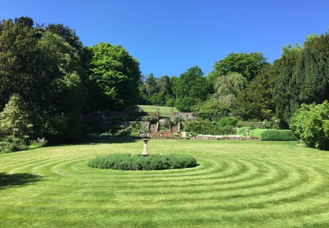 Stonor Manor Gardens Sundial