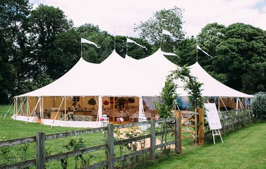 Stonor Manor Papakata Marquee Tent Front