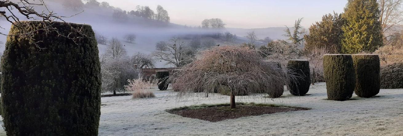 Stonor Manor Snow Capped Garden