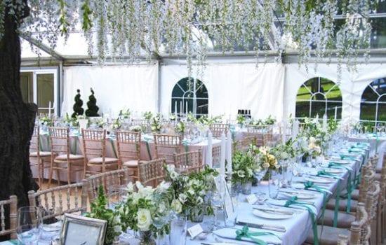 Stonor Manor Florists Susan and Alexandra Table Setting