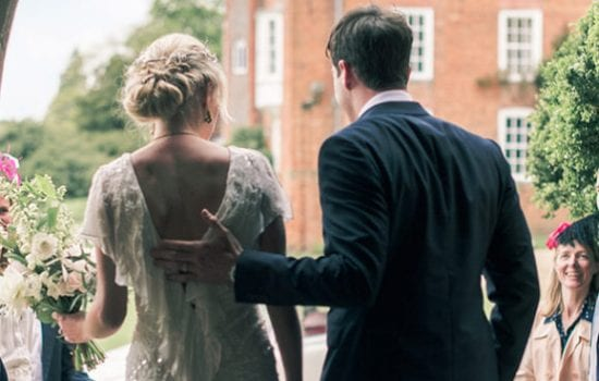 Stonor Park Ceremonies Chapel Couple Newly Weds