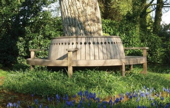 Stonor Park Furnishings Tree Seat