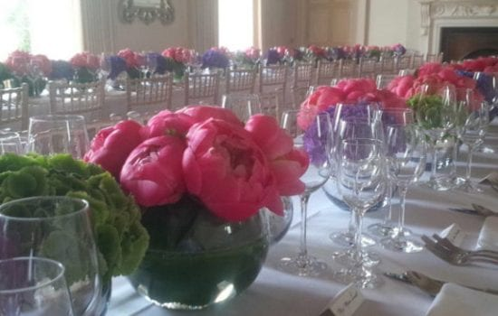 Stonor Park Home and Away Events Caterers Table