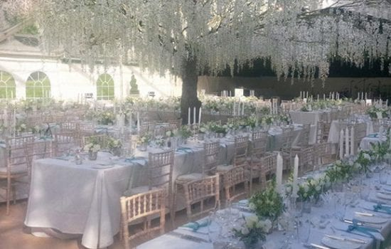 Stonor Park Home and Away Events Caterers Table Dining