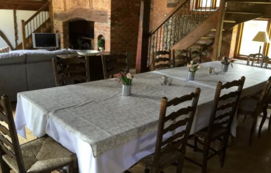 Stonor Park Pishill Farm Barn Dinning Table
