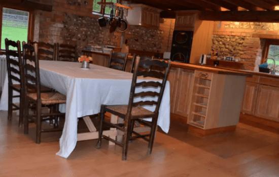 Stonor Park Pishill Farm Barn Kitchen Dinning Open Plan
