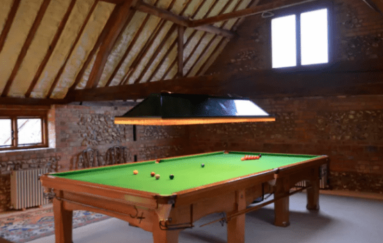 Stonor Park Pishill Farm Barn Pool Table