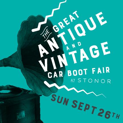 The Great Antique & Vintage Car Boot Fair